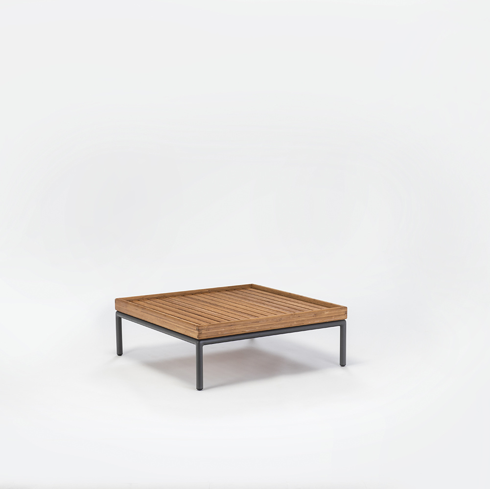 HOUE LEVEL LOUNGE TABLE // BAMBOO 81 X81cm