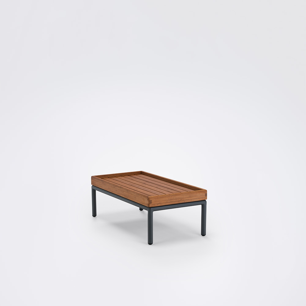 HOUE Level Side Table // bamboo //h29xW40,5xL81