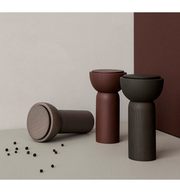 Ferm Living Drupe Mill - Red Brown Ash