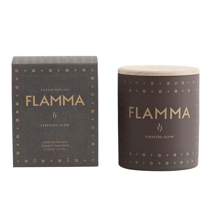 Skandinavisk Flamma Scented candle with lid
