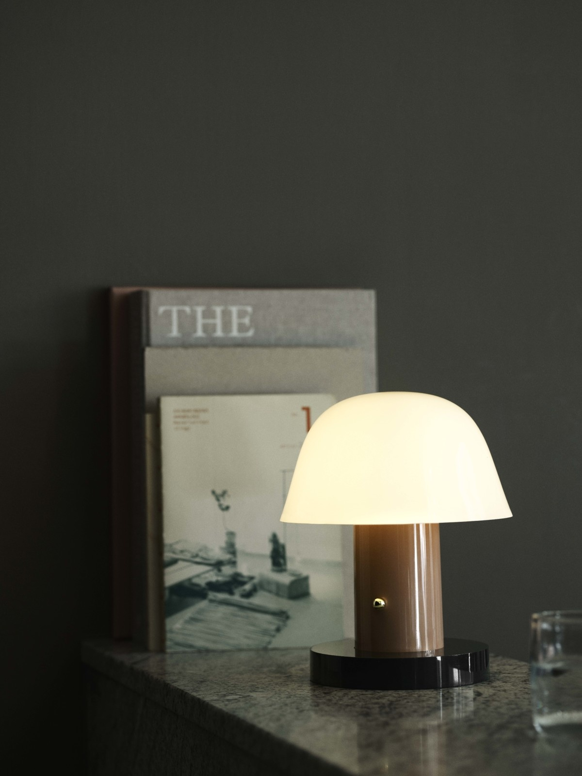 &Tradition Setago JH27 table lamp - Nude & Forest