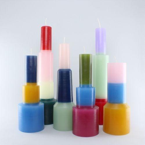 HAY Pillar Candle - M - Mint