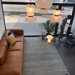 HAY Mags sofa soft model silk cognac 304cm