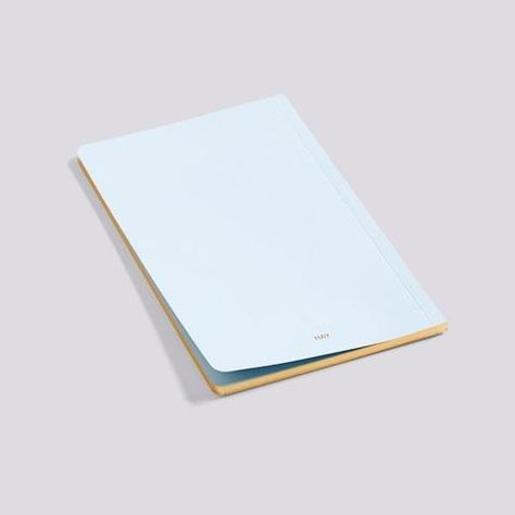 HAY Edge Notebook - Light blue