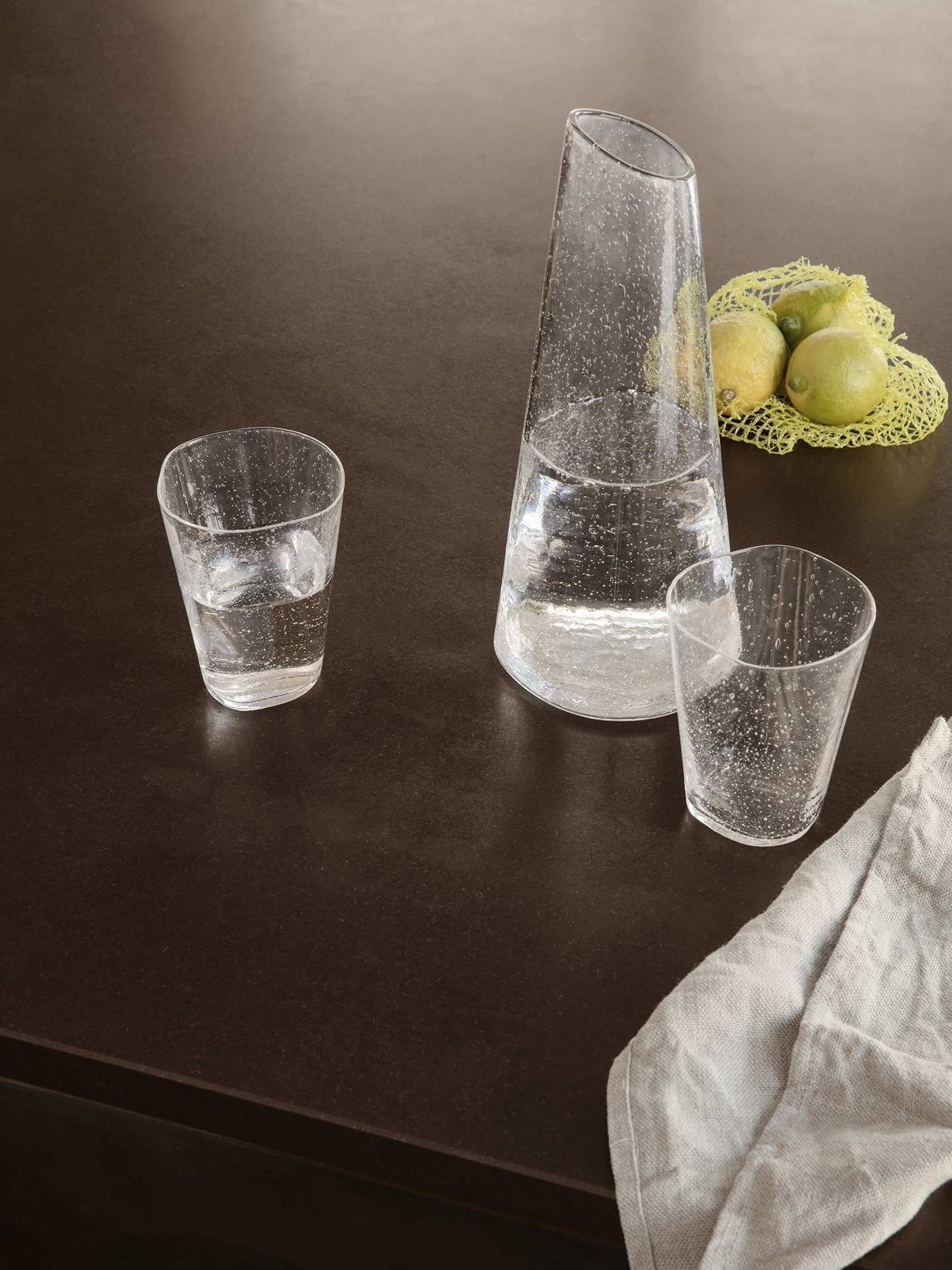 Ferm Living Brus Carafe Clear