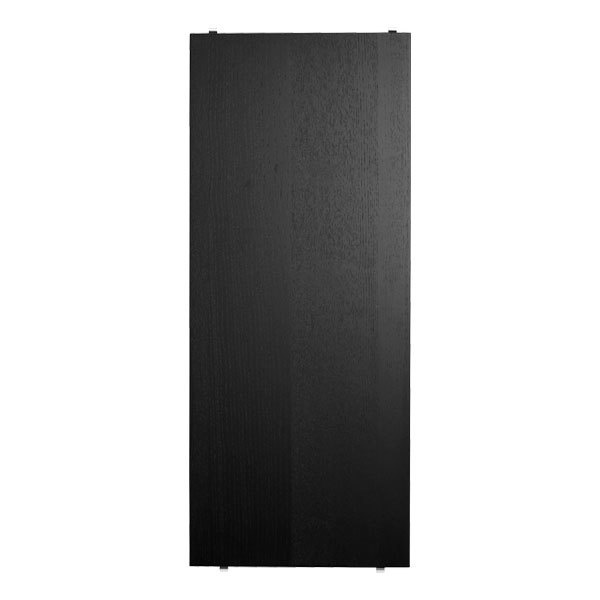 String String shelf 3 pack black stained ash 58x30