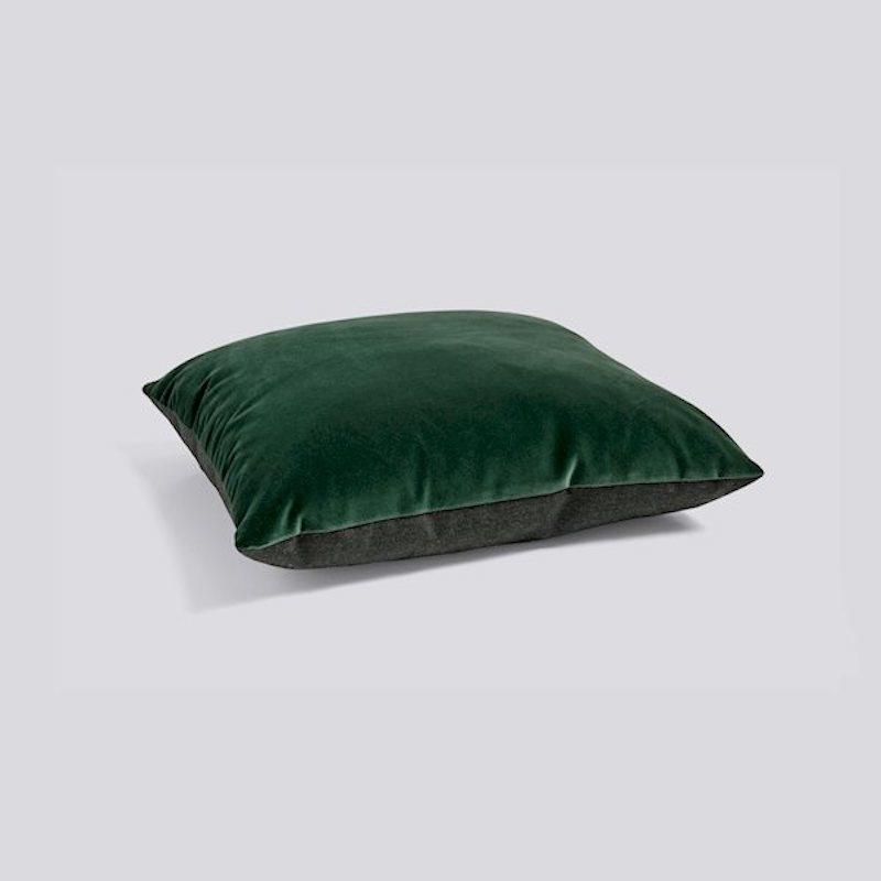 HAY Cushion Eclectic Dark green