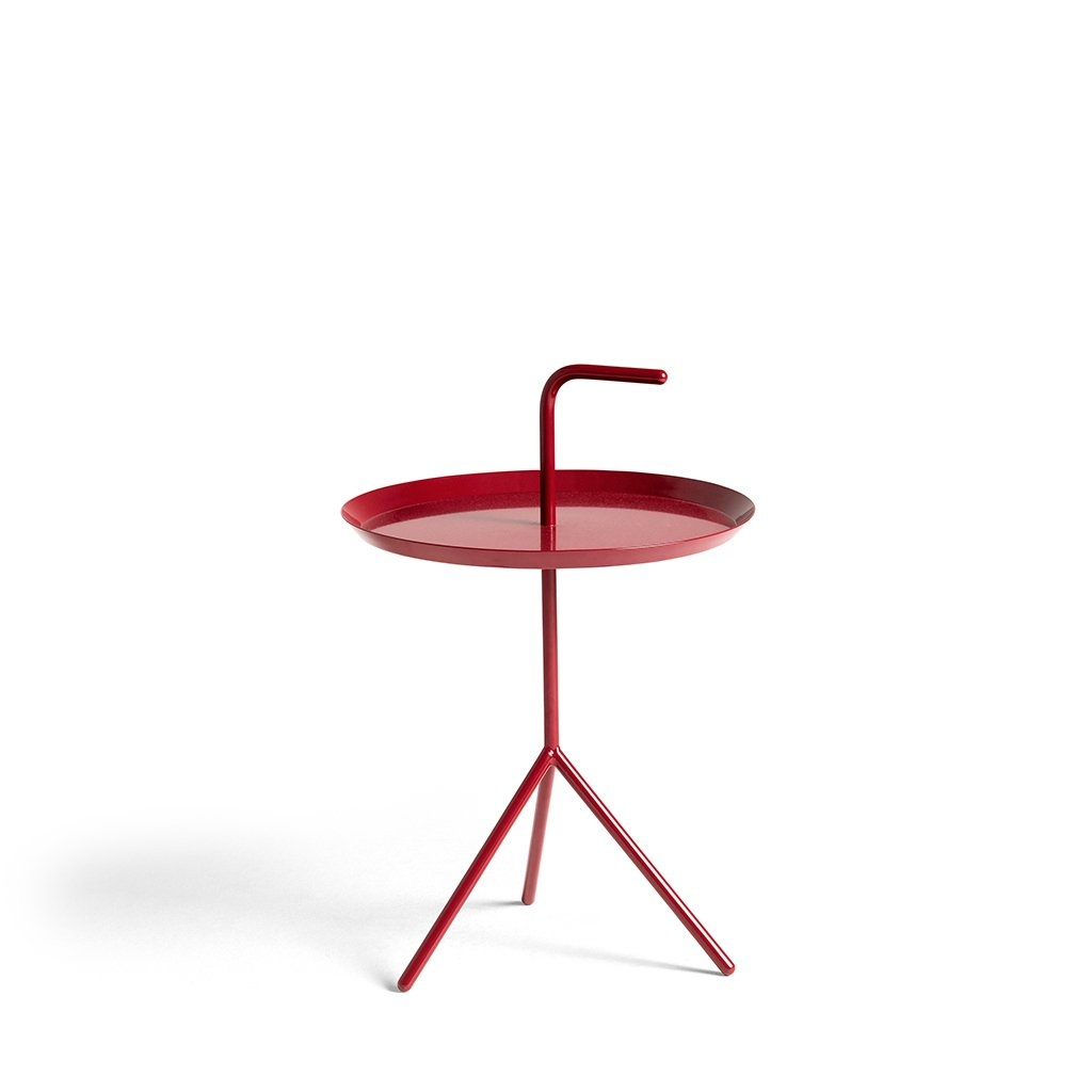 HAY DLM Side Table Cherry Red High Gloss - d38cm