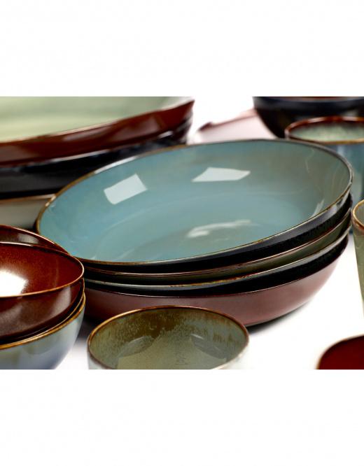 Serax Anita Le Grelle - Soup Plate S (d17,5cm) - Light Blue/Smokey Blue