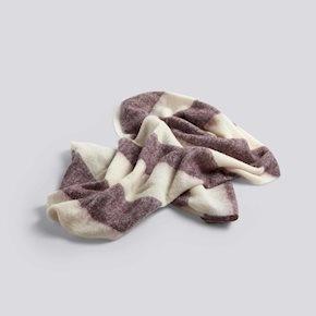 HAY Mohair Blanket - 180x120cm - Burgundy