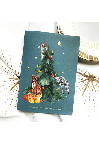 Creative Lab Amsterdam It's the most wonderful time of the year card
