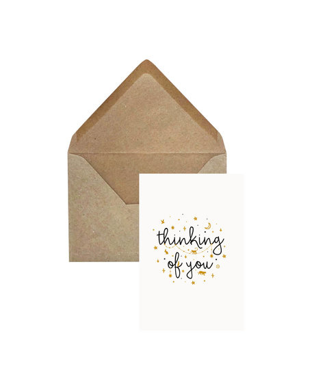 Creative Lab Amsterdam Thinking of you card