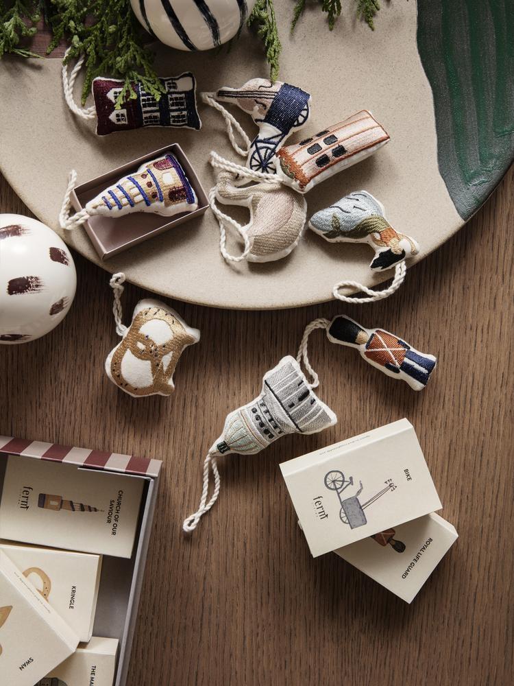 Ferm Living Christmas ornament - Kringle