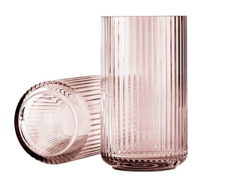 Lyngby Porcelaen Lyngbyvase - h25cm - glass - burgundy
