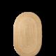 Ferm Living Eternal Oval Jute Rug - natural - large