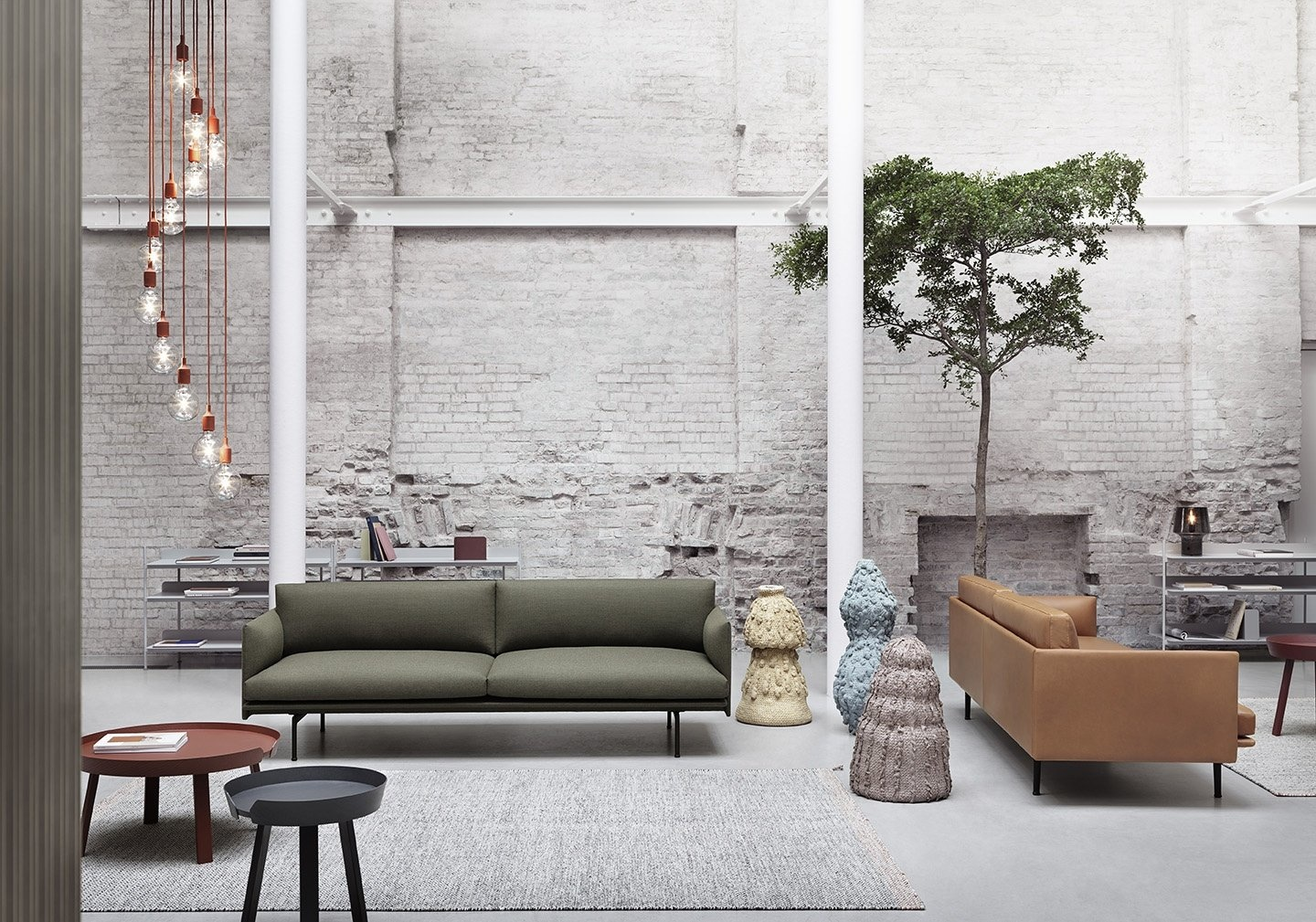 Muuto OUTLINE SOFA / 3-SEATER / 3-SEATER - Fiord - All Colors
