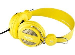WeSC wesc-oboe-vibrant-yellow-koptelefoon