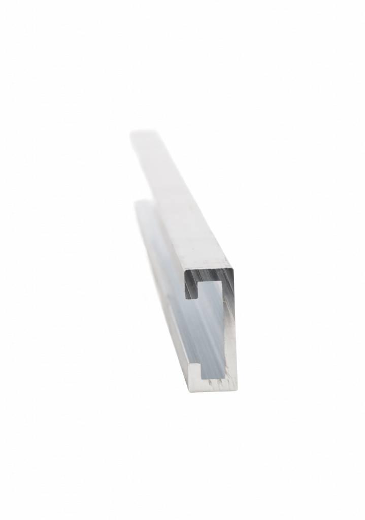 Aluminium C-Profil - 2 m Stangenware