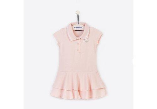 Conguitos polojurkje meisje roze