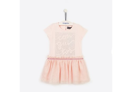 Conguitos meisjes jurk roze