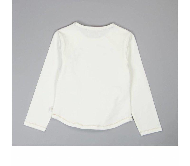 """shirt wit """"tres jolie"""""""