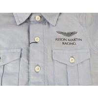 jongens overhemd blauw - Aston Martin Racing