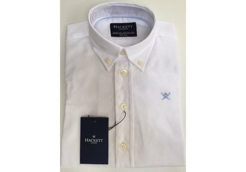 Hackett London jongens overhemd wit
