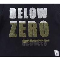 jongens sweater zwart met capuchon en print