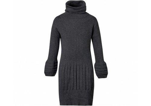 Jottum meisjes jurk grijs met col