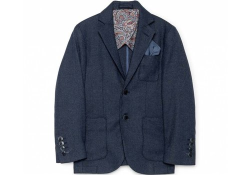 Hackett London jongens colbert blauw