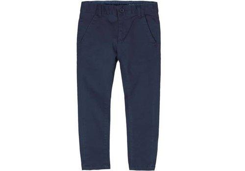 Boboli jongens broek donkerblauw steekzakken
