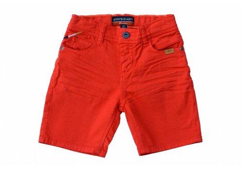 State of Art Rookies jongens korte broek rood