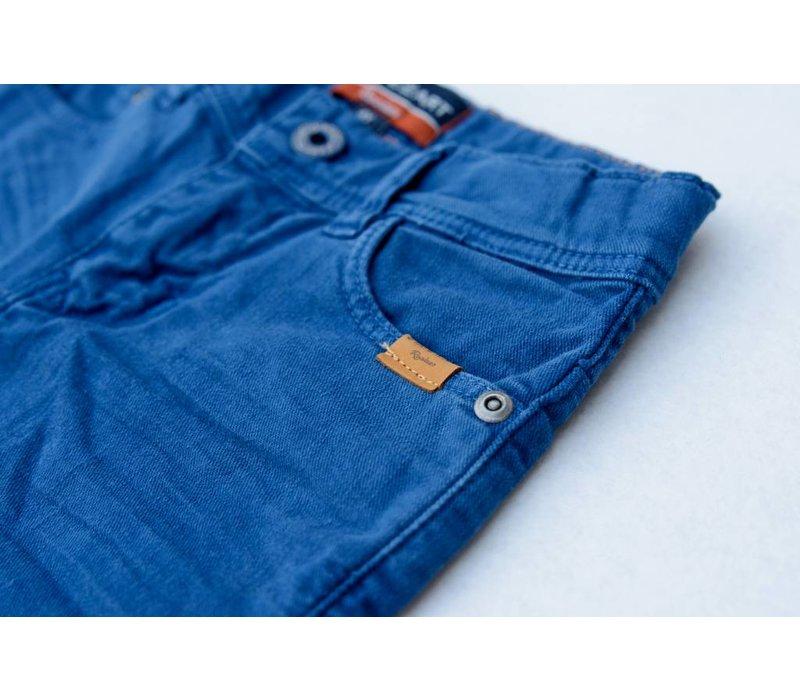 jongens lange broek blauw