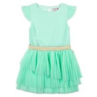 jurk mint groen plissé