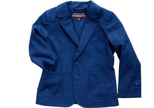State of Art Rookies jongens colbert jasje blauw gemêleerd