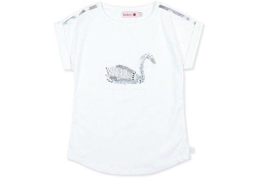 Boboli shirt met zilveren zwaan