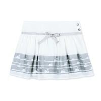 rok wit en zilver met zwaan
