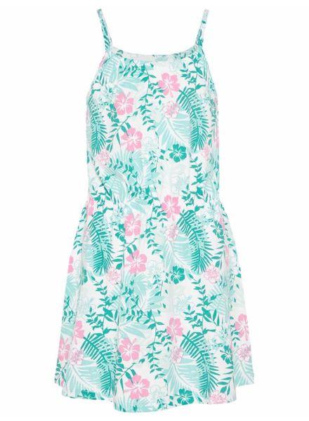 Name it 13154802 nkfvigga strap dress bright white flower