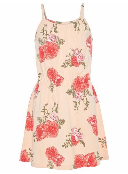 Name it 13154802 nkfvigga strap dress peachy keen flower