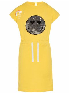 Name it 13161609 nkfhappy elise ss slim dress lic empire yellow