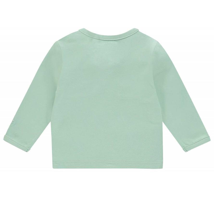 67383 Noppies top grey mint