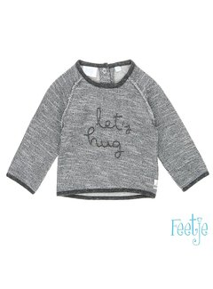 Feetje 51601043 sweater grey melange