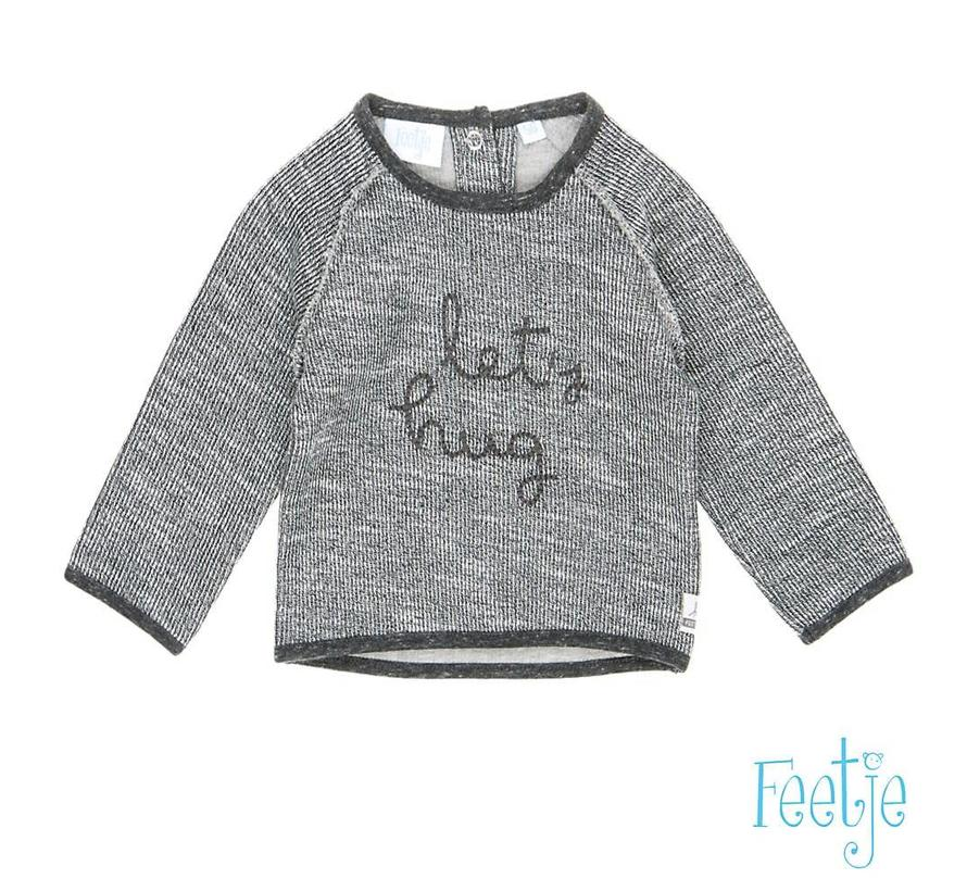 51601043 sweater grey melange