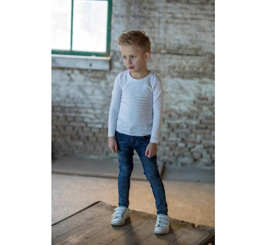72200107 Sturdy jeans blue denim