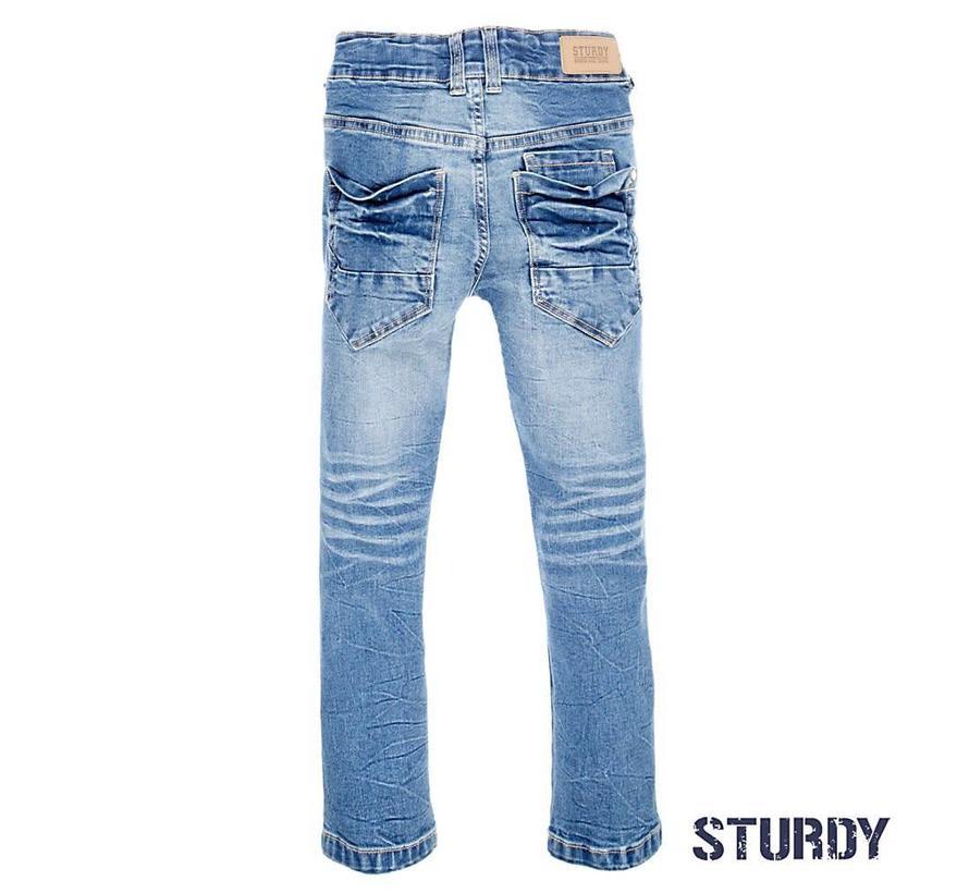 72200109 Sturdy jeans blue denim