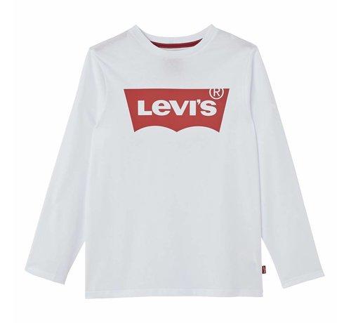 Levis tshirt boys NM10104 White
