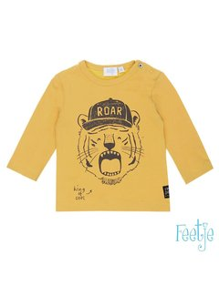 Feetje 51601098 shirt lm yellow