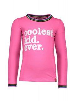 B.NOSY Y808-5473 T-shirt Neon Magenta