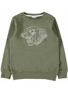 Name it 13155577 nkmladigo sweater burnt olive