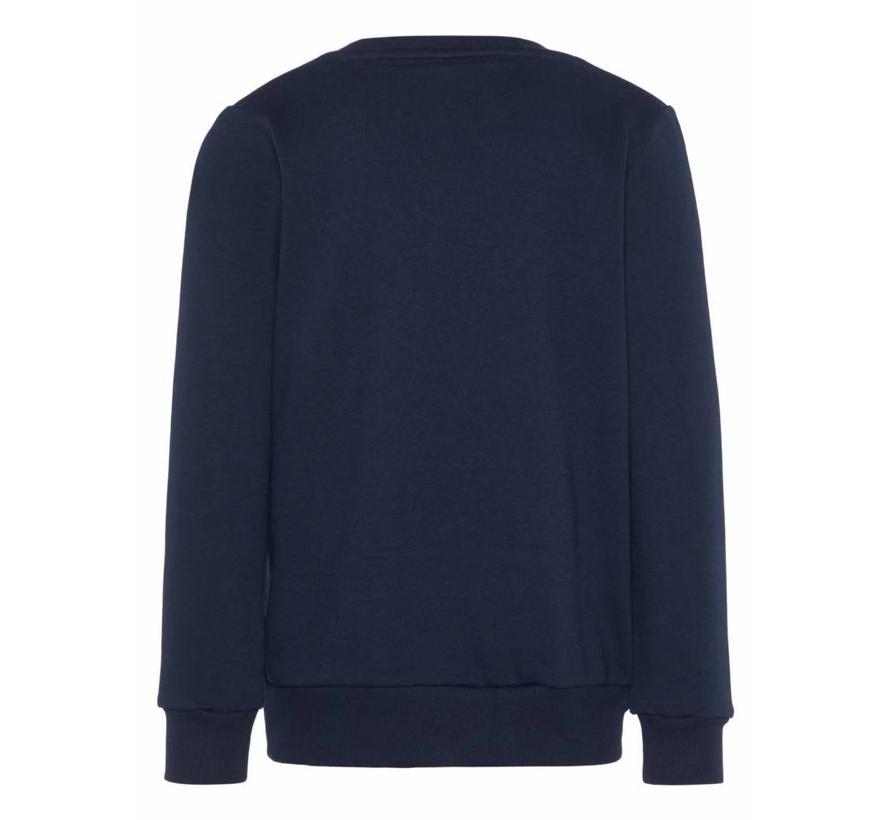 13155577 nkmladigo sweater dark sapphire